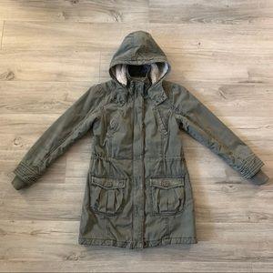 H&M Cozy faux-fur parka jacket